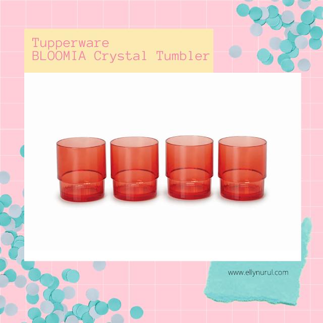 Tupperware Bloomia Cystal Tumbler