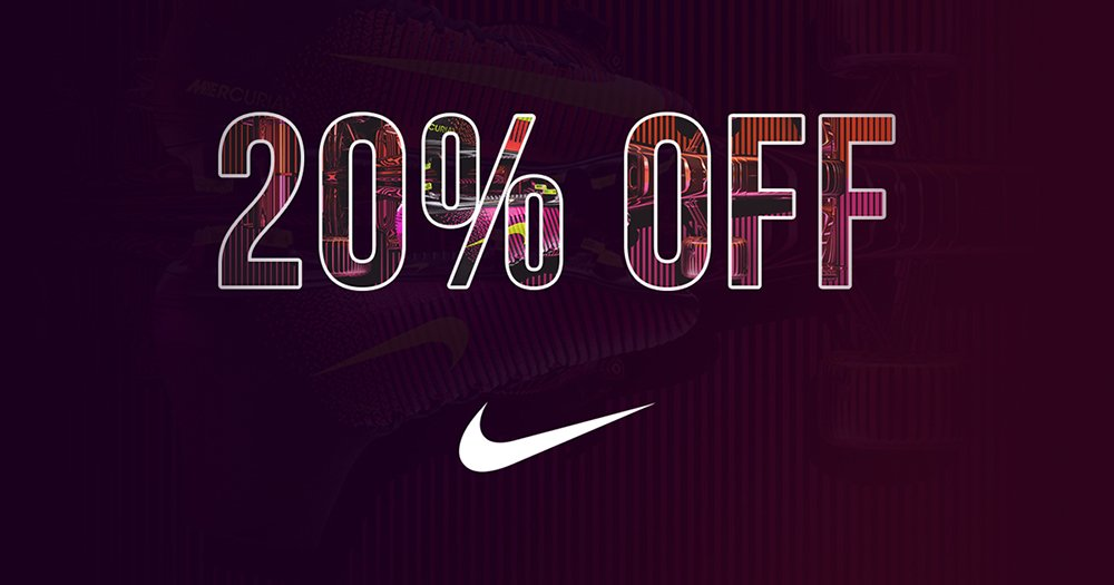 Get +20% Off Nike Sale Products Using Promo Code FA1016