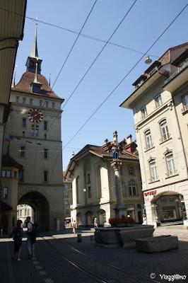 La torre delle Prigioni di Berna