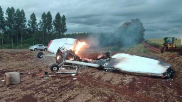 Monomotor cai e mata duas pessoas no distrito de Naranjal, no Paraguai