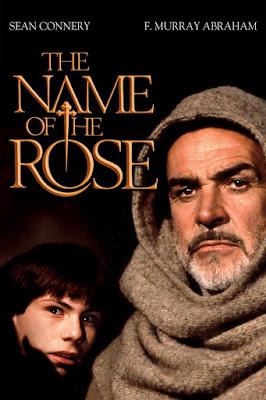 Póster Película El nombre de la rosa