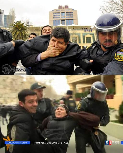 Ata Abdullayev es conocido en Azerbaiyán como activista de los servicios policiales