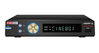CINEBOX LEGEND X2 NOVA ATUALIZAÇÀO - 31/05/2021