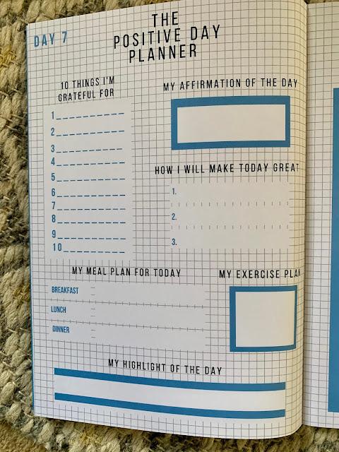 21 day positivity planner