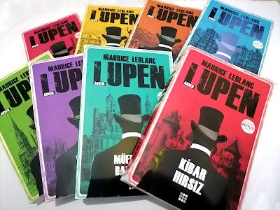 Kitap alış-verişi, Arsen Lupen,Dokuz Yayınları, Maurice Leblanc