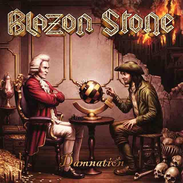 """Ο δίσκος των Blazon Stone """"Damnation"""""""