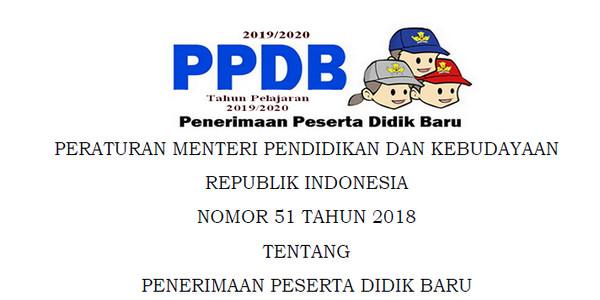 Juknis dan SE PPDB SD, SMP, SMA, MA, SMK, MAK Tahun 2019