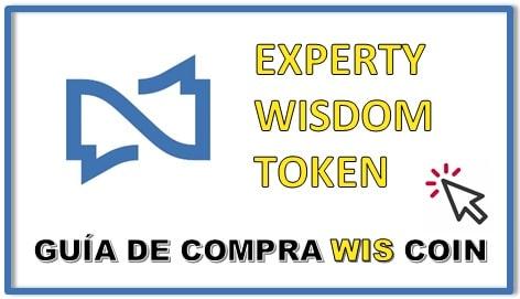 Cómo y Dónde Comprar Criptomoneda EXPERTY WISDOM TOKEN (WIS) Actualizado