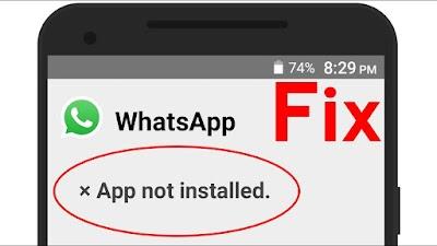 """حل مشكله """" فشل تثبيت التطبيق """"او """" App not installed """" ، التطبيق غير مثبت لهواتف الاندرويد"""