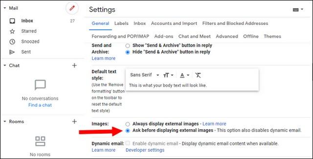كيفية منع تعقب رسائل البريد الإلكتروني