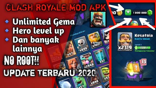 Clash Royale Mod Apk Terbaru 2020