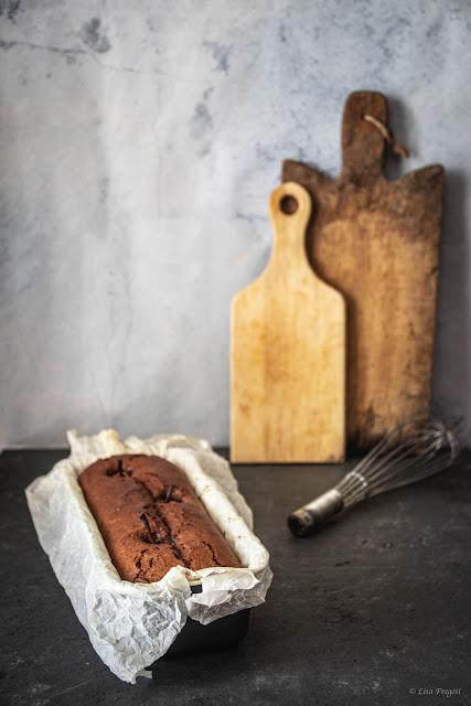 la ricetta del plumcake con cacao e pere