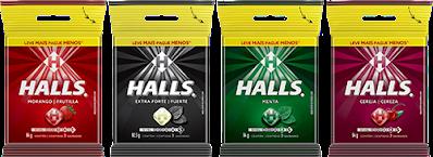 promoção halls 2021