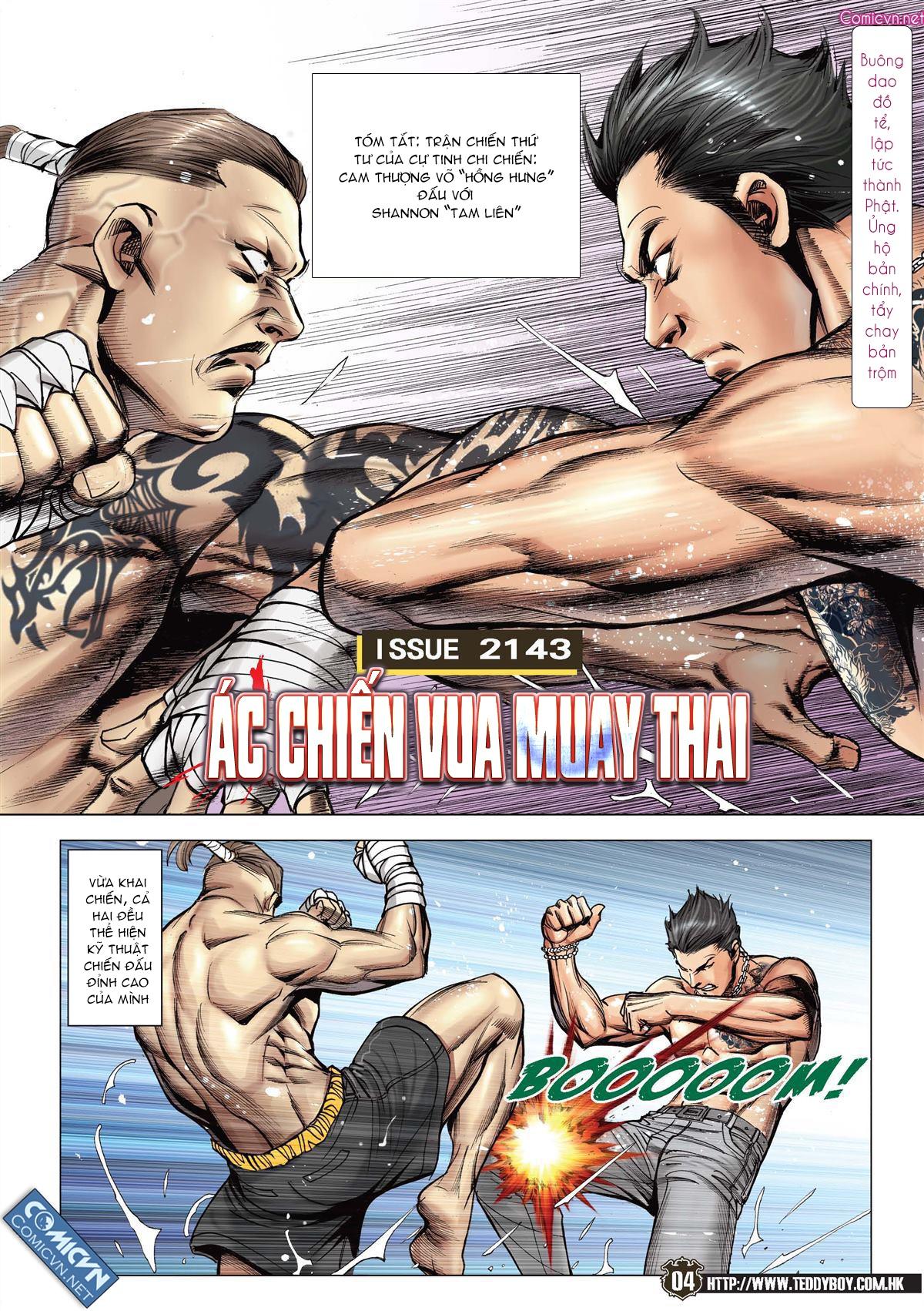 Người Trong Giang Hồ chapter 2143: ác chiến vua muay thai trang 2