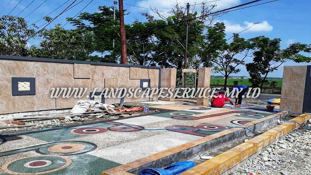 Tukang Batu Sikat Blitar | Jasa Pasang Carport Koral Sikat Blitar