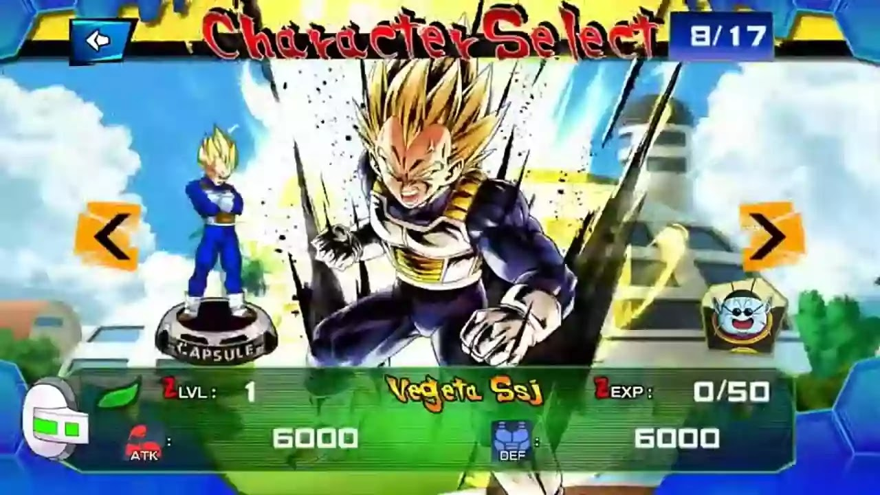 Dragon Ball Z Game for Android
