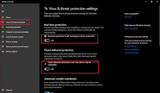 Mematikan anti virus windows dengan mudah