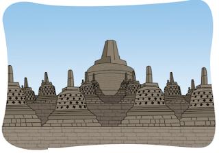 Candi Borobudur www.simplenews.me