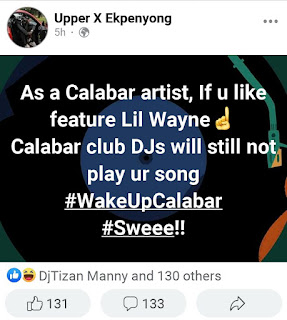 GX GOSSIP: Few hours after the controversy between Upper X & Djs, chairman CRAF cleared the air that the post was nothing serious but a comic one