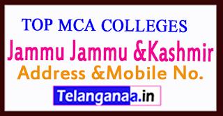 Top MCA Colleges in Jammu Jammu &Kashmir