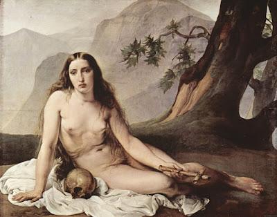 Μαρία Μαγδαληνή η Αμαρτωλή, έργο του Φραντσέσκο Χάγιεζ,  άστοχη ταύτιση της με την πόρνη