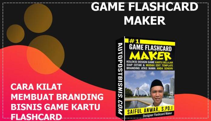Flashcard Maker Paket Bisnis