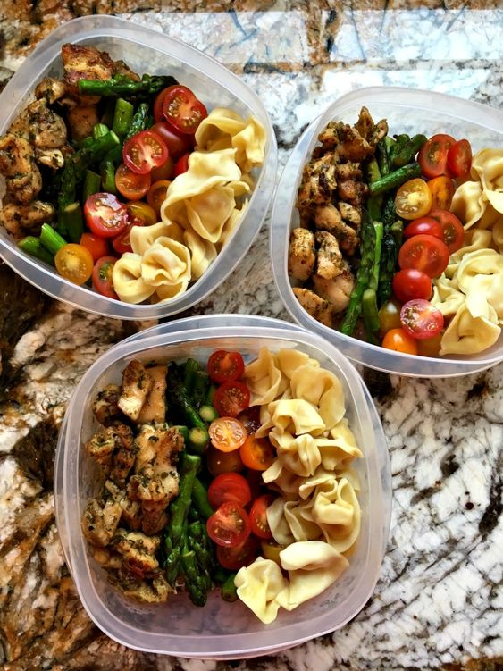 Meal Prep Mondays: Chicken tortellini pesto bowls #recipes #lunchrecipes #food #foodporn #healthy #yummy #instafood #foodie #delicious #dinner #breakfast #dessert #lunch #vegan #cake #eatclean #homemade #diet #healthyfood #cleaneating #foodstagram