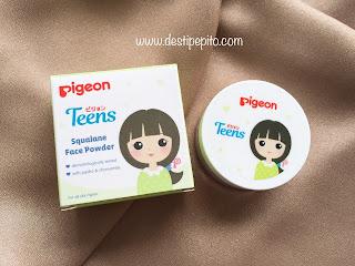 Tampilan Pigeon Teens Face Powder