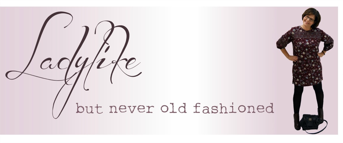 Ladylike - but never old-fashioned
