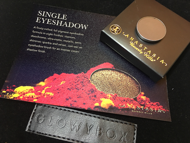 GlowyBox July Box Review Anastasia Smoke Eyeshadow