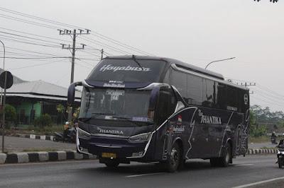 Foto Bus New Shantika Hayabusa
