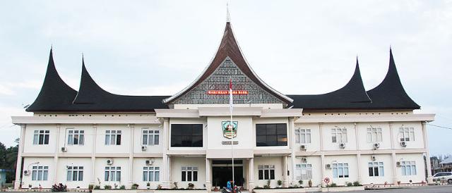 Gedung kantor Bupati Kabupaten Dharmasraya