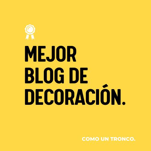 Mejor blog de decoración