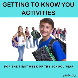 Getting to Know You Activities for the First Week of the School Year