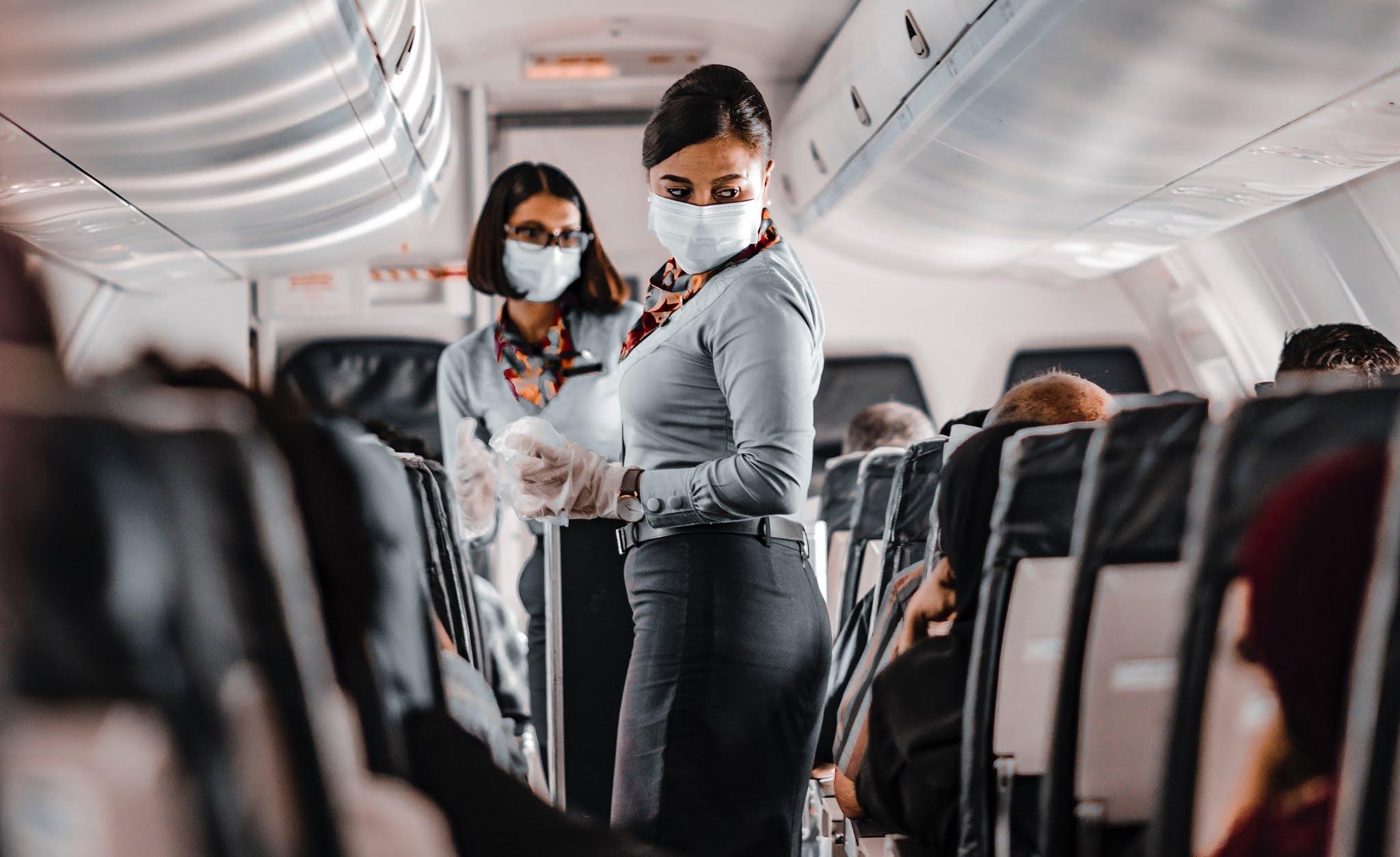 voos durante a pandemia