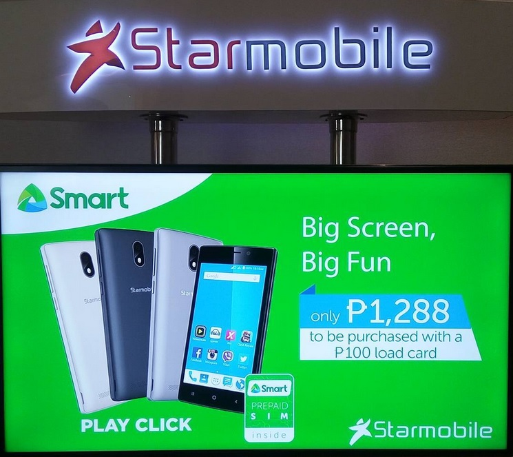 Starmobile and Smart Launched Play Click 1288 Bundle, Quad Core ...
