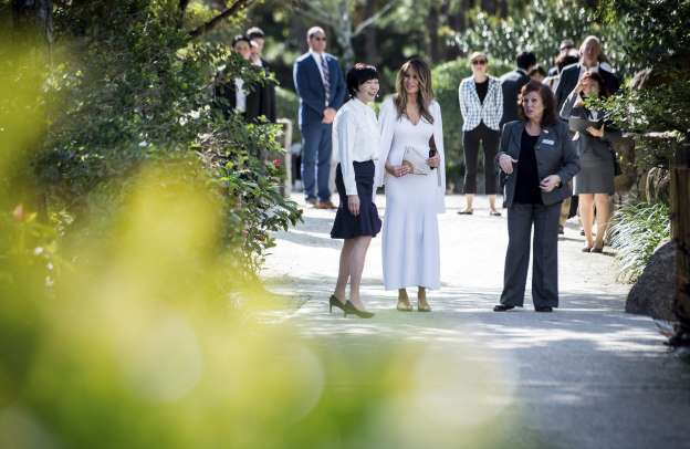 Melania will keep Michelle's veggie garden