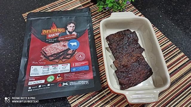 Dendeng Bakar Cik Midah BBQ Meat Jerky