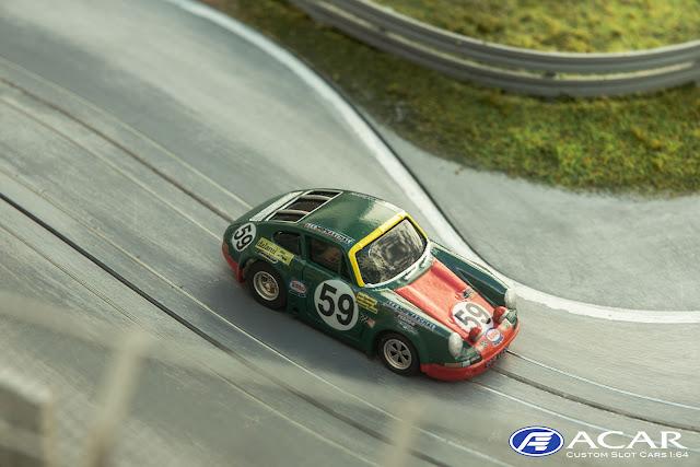 Porsche 911 S 24h Le Mans 1970 Team Jean Egreteaud  #59