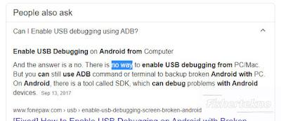 USB Debugging penjelasan
