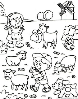 Best Ideas Daily in the field Coloring Pages