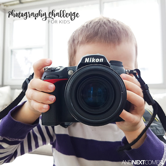 30 photography prompts for kids from And Next Comes L