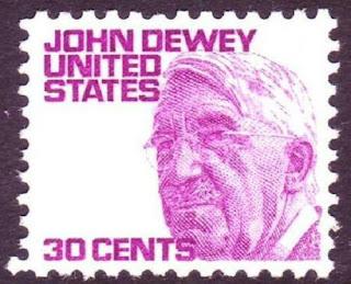 John Dewey US Stamp 30 cents