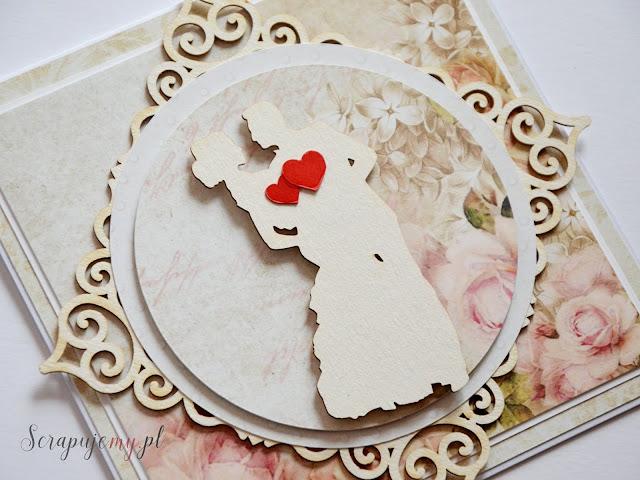kartka na ślub, kartka z parą młodą, kartka z tańczącą parą, kartka z tanczaca para, wedding card. kartka nowożeńcy