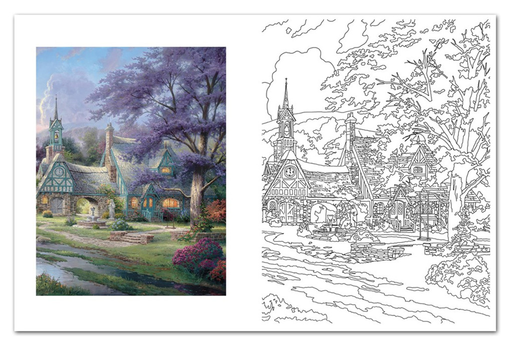 Thomas Kinkade Online Catalog Thomas Kinkade Adult