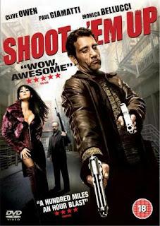 Shoot 'Em Up (2007) BRRip 720p 750MB Dual Audio ( Hindi-English ) MKV