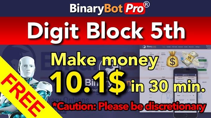 Digit Block 5th | Binary Bot Pro