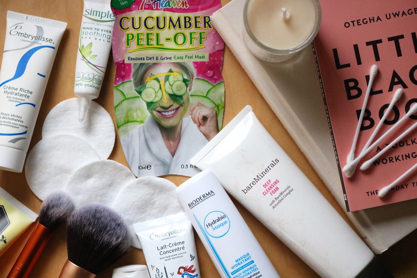 Winter Skincare Checklist products