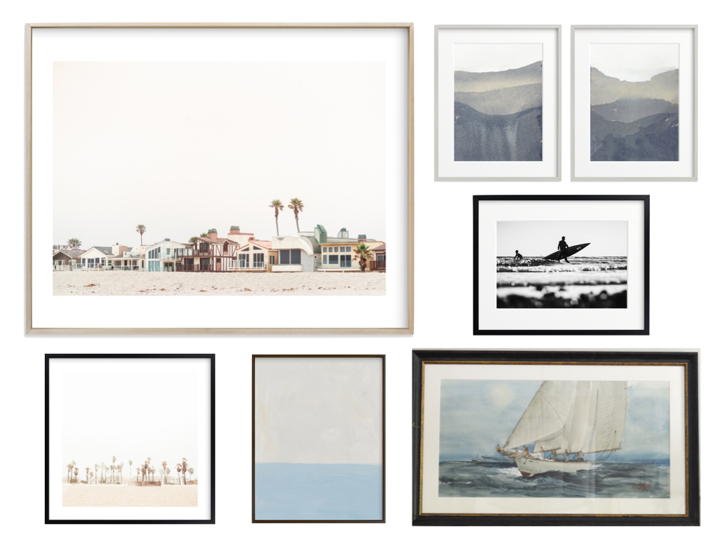 minted art, coastal art, vintage ship painting