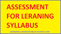 assessment for learning b.ed syllabus 2nd year free dowload pdf in hindi and english